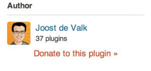 Do-follow link fra WordPress plugin